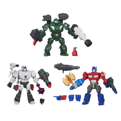Transformers Hero Mashers Battle Upgrade Figures Wave 1