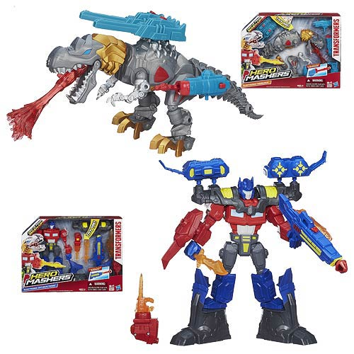 Transformers Hero Mashers Electronic Action Figures Wave 1