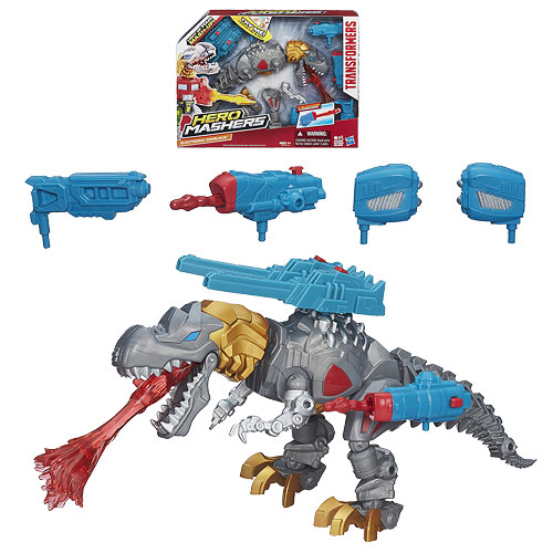 Transformers Electronic Grimlock Hero Mashers Action Figure