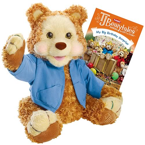 T.J. Bearytales Animated Bear