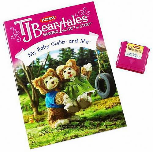 T.J. Bearytales My Baby Sister and Me Story Pack