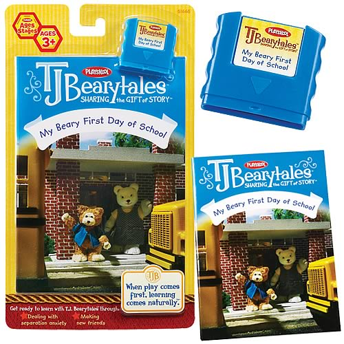 T.J. Bearytales My Beary First Day of School Story Pack
