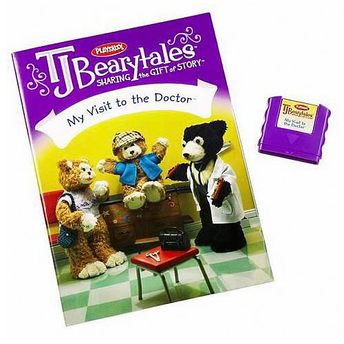 T.J. Bearytales My Visit to the Doctor Story Pack