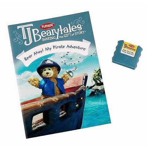 T.J. Bearytales Bear Ahoy! My Pirate Adventure Story Pack