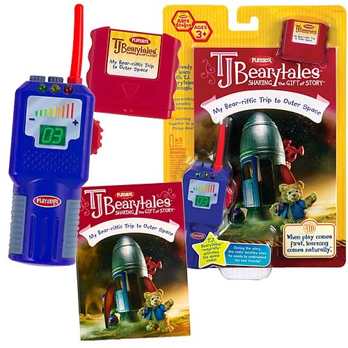 T.J. Bearytales Bear-riffic Trip to Outer Space Story Pack