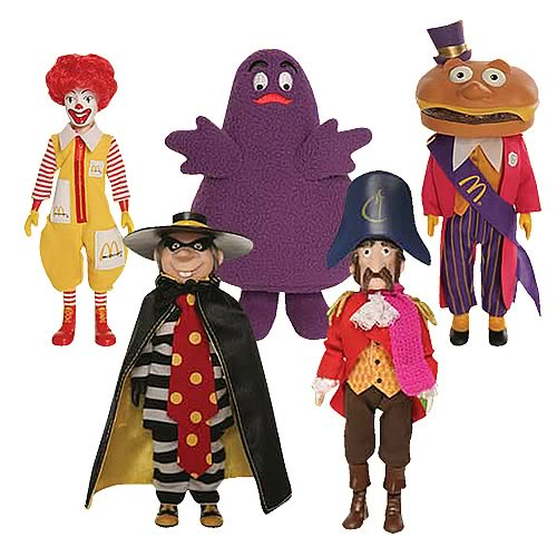 Mcdonald Wholesale Home: McDonald's Series 1 Action Figure Case