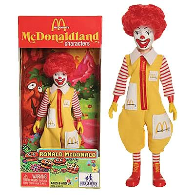 McDonald's Series 1 Ronald McDonald Action Figure