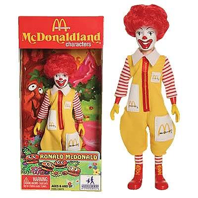 McDonald's Series 1 Ronald McDonald Action Figure