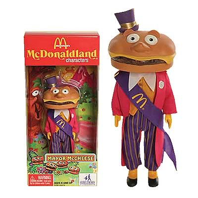 McDonald's Series 1 Mayor McCheese Action Figure