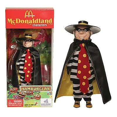 McDonald's Series 1 Hamburglar Action Figure