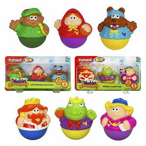 Playskool Weebles Figures Wave 4