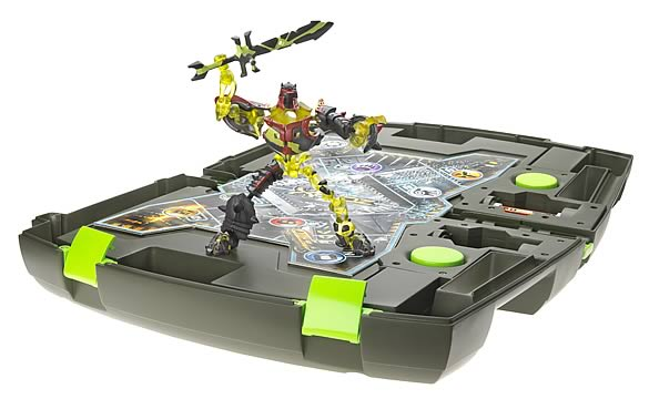 Xevoz Battle Attack Transporter with Unnatural Iron Spectre