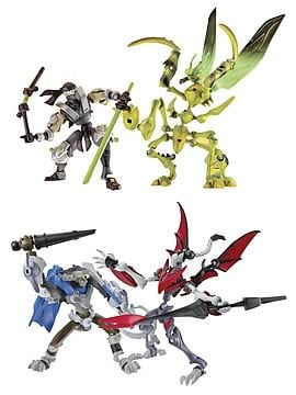 Xevoz Battle Attack 2-Pack Ast. 2 Set