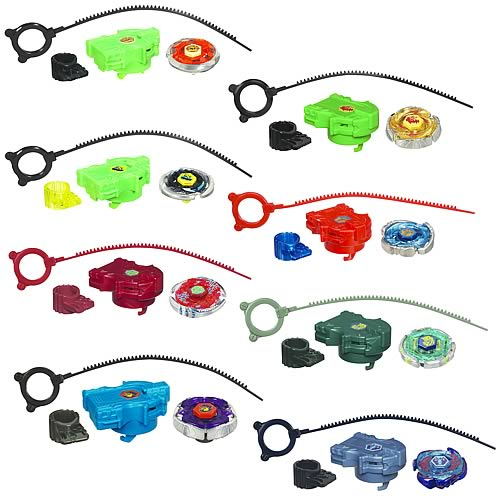 Beyblade Metal Fusion Tops Wave 11 Revision 1