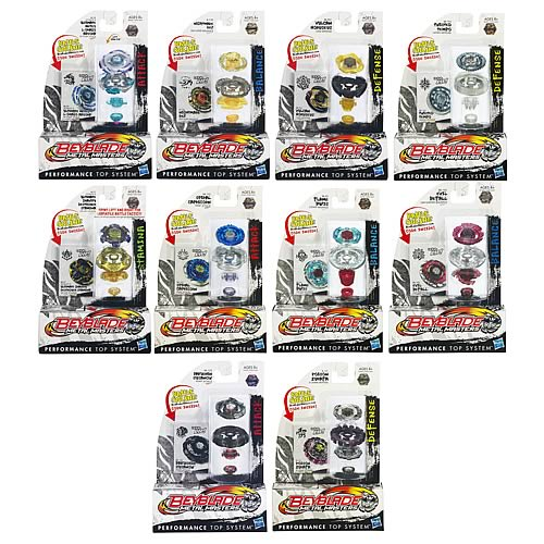 Beyblade Metal Fusion Tops Wave 17