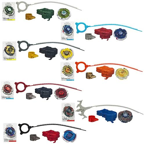 Beyblade Metal Fusion Tops Wave 18