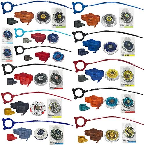 Beyblade Metal Fusion Tops Wave 21 Revision 3