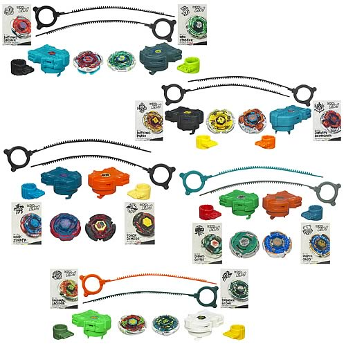 Beyblade Metal Fusion Faceoff Tops Wave 10