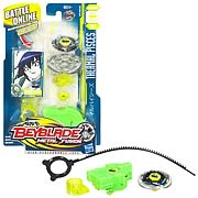 Beyblade Metal Fusion Thermal Pices Green Battle Top