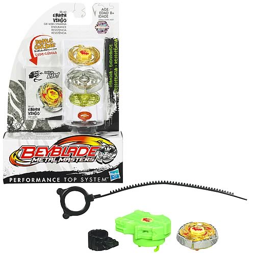 Beyblade Metal Fusion Earth Virgo Battle Top
