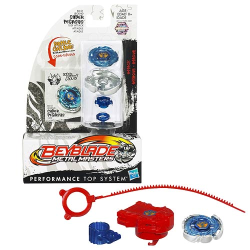 Beyblade Metal Fusion Cyber Pegasus Battle Top