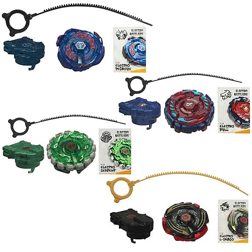 Beyblade Electro Battlers Spin Tops Wave 3 Revision 2