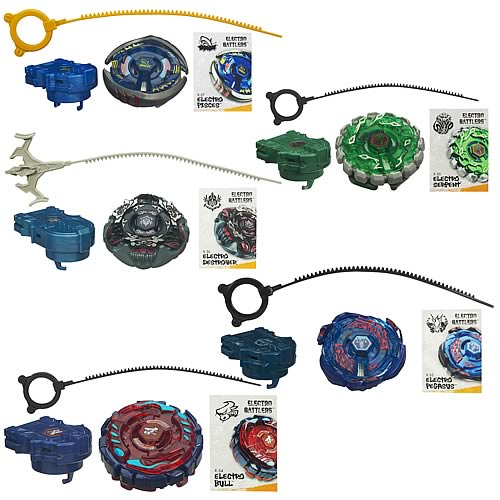 Beyblade Electro Battlers Spin Tops Wave 5