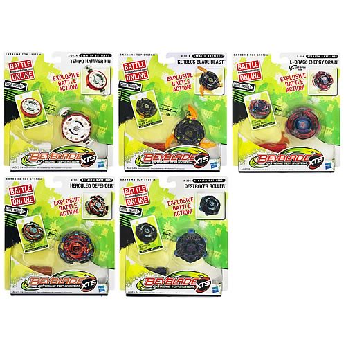 Beyblade Stealth Battles Tops Wave 4 Revision 1