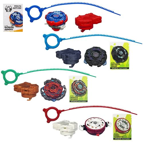 Beyblade Stealth Battles Tops Wave 4