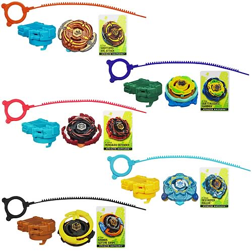 Beyblade Stealth Battles Tops Wave 6