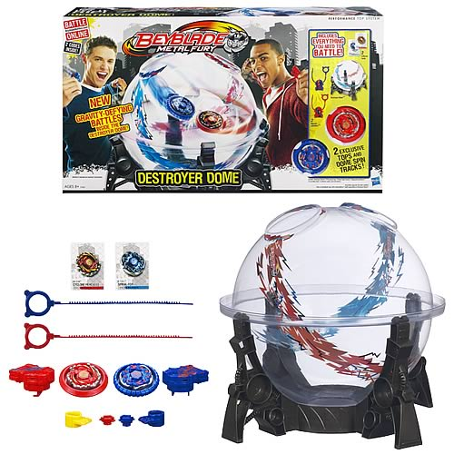 Beyblade Metal Fury Destroyer Dome Playset