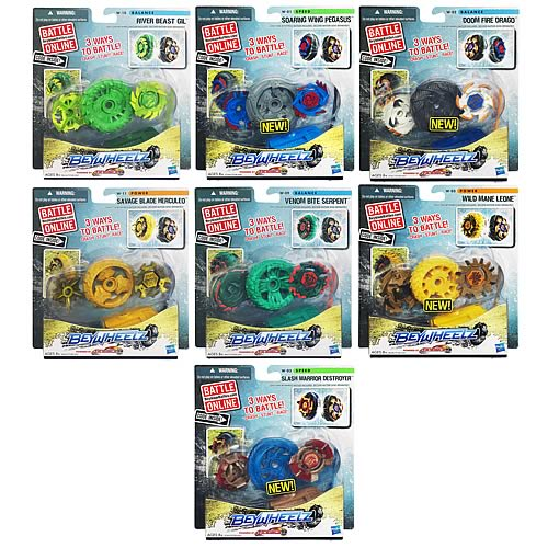 Beyblade Beywheelz Battle Wheels Wave 1 Revision 1