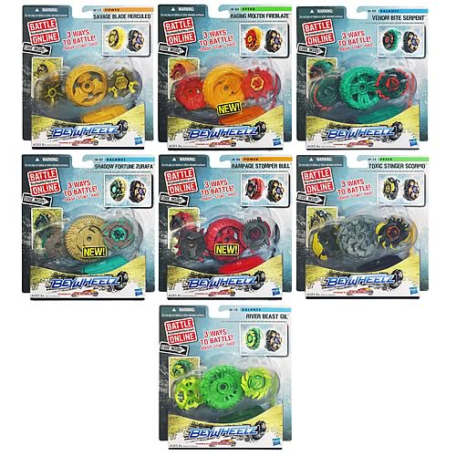Beyblade Beywheelz Battle Wheels Wave 2