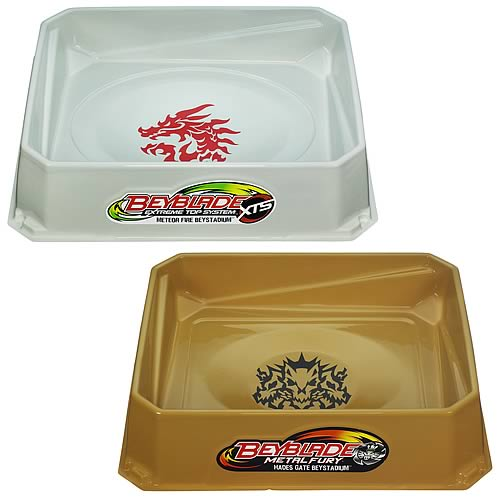 Beyblade Metal Fury Beystadiums Wave 1 Set