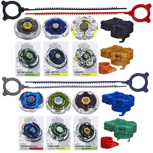 Beyblade Team Packs Wave 3 Set