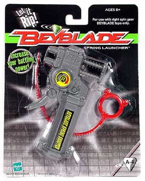 Beyblade Spring Launcher