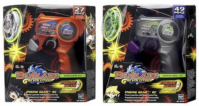 Beyblade Remote Control Top Ast. 1 Set