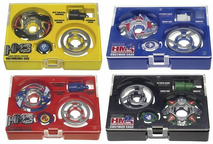 Beyblade Hard Metal System Assortment 2