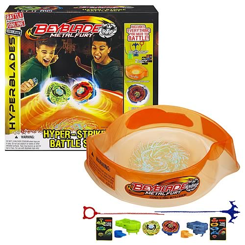 Beyblade Metal Fury Hyper Strike Battle Set