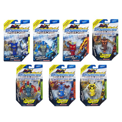 Beyblade Beywarriors Shogun Steel Battle Tops Wave 2R2 Case