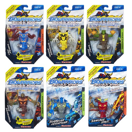 Beyblade Beywarriors Shogun Steel Battle Tops Wave 2 Case