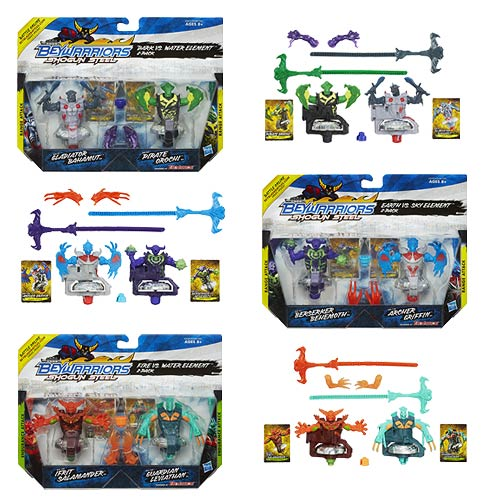 Beyblade Beywarriors Shogun Steel Tops 2-Packs Wave 1 Rev. 1