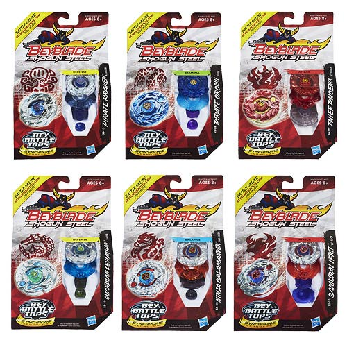 Beyblade Shogun Steel Battle Tops Wave 1 Case