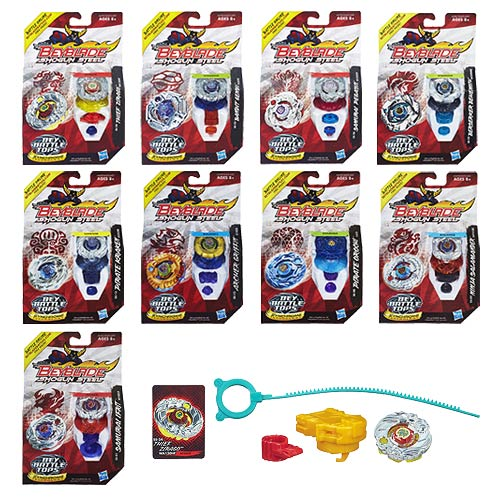 Beyblade Shogun Steel Battle Tops Wave 4 Revision 1 Case