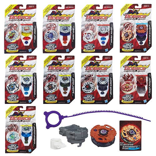 Beyblade Shogun Steel Battle Tops Wave 4 Revision 2 Case