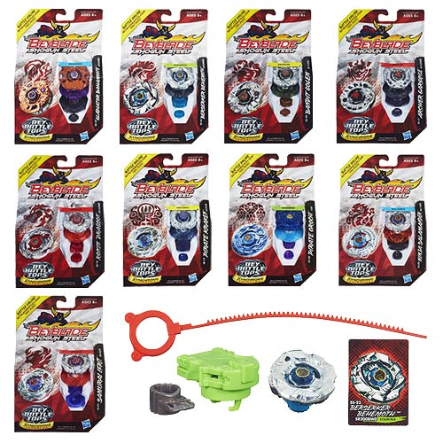 Beyblade Shogun Steel Battle Tops Wave 4 Revision 3 Case