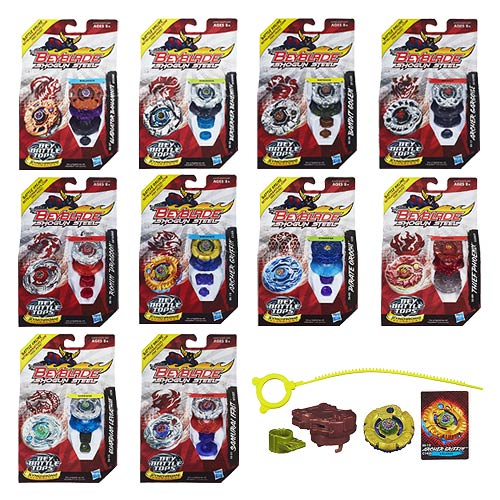 Beyblade Shogun Steel Battle Tops Wave 4 Revision 4 Case