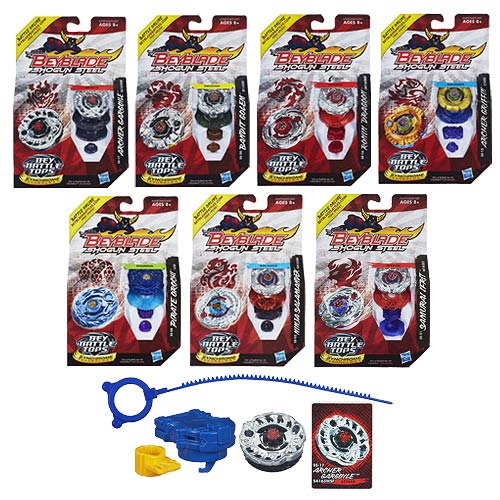 Beyblade Shogun Steel Battle Tops Wave 4 Revision 5 Case