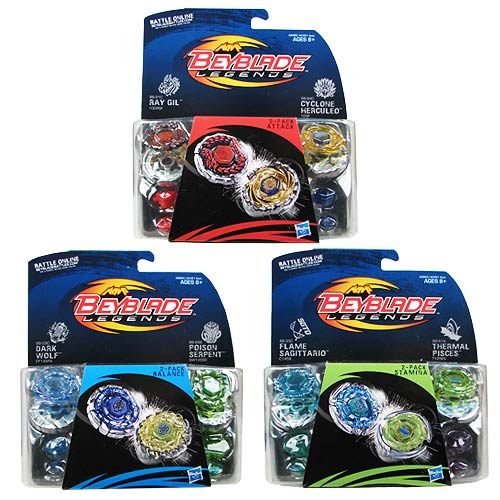 Beyblade Shogun Steel Tops Two-Packs Wave 3 Case