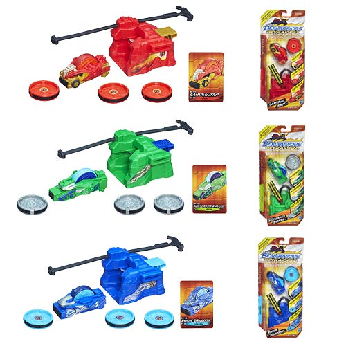 Beyblade Beyraiderz Starter Packs Wave 1